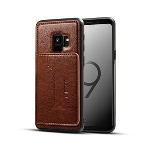 Samsung S9 plus cellphone case - dark brown